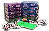 Bubble Gum Surf Wax 10 Pack / Cool-Cold-Base