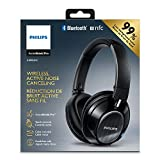 Image of Philips SHB9850NC/27 Wireless Noise Canceling Headphones, Black