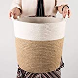 Goodpick Cotton Rope Storage Basket- Jute Basket