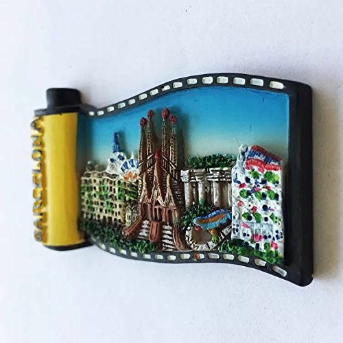 Amazon.com: Sagrada Familia Barcelona Spain Europe Resin 3d ...