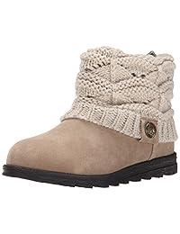 Muk Luks Women's Patti Crochette Winter Boot