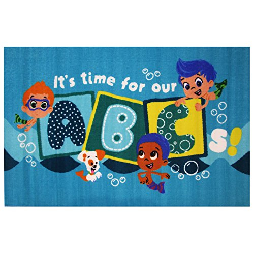 Fun Rugs Bubble Guppies 'ABC' Accent Rug, Blue, 39