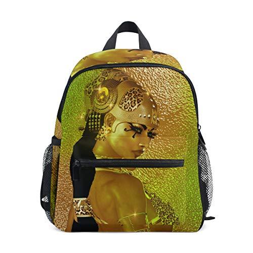 Backpack Egyptian Magic Goddess In Gold Jewelry Costume Mini Lightweight Bag for Unisex