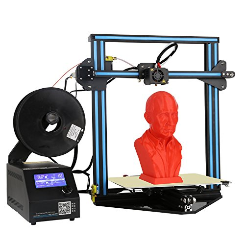 CCOWAY CR-10 mini 3D Printer with Heated Build Plate, Includes Micro SD Card and Sample PLA Filament, Print Size: 300mm×300mm×220mm