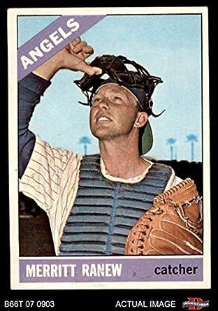 Amazoncom 1966 Topps 62 Xsld Merritt Ranew Los Angeles Angels