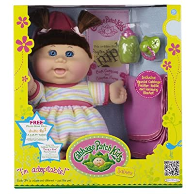 Cabbage Patch Babies Doll - Caucasian Girl Brunette Hair by Cabbage Patch Kids