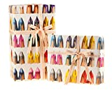 SJP by Sarah Jessica Parker Fawn Wall High Heel Ombre Shoe Gift Wrapping Paper Poster