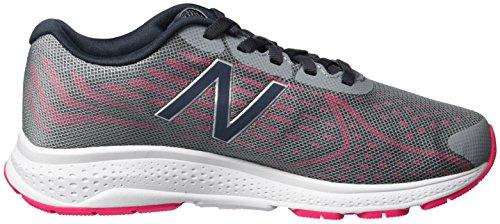 New Balance Kjrusgug M Vazee Rush V2, Zapatillas Unisex Niños Multicolor (Grey/pink)