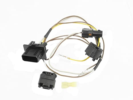 51 PW31wrbL._SX466_ amazon com for mercedes headlight wire wiring harness connector kit