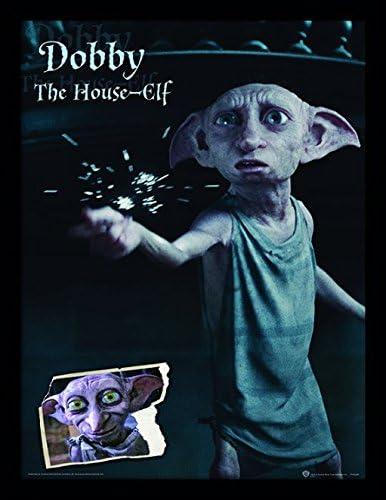 30 x 40 cm Objet Souvenir Wizarding World Harry Potter Dobby