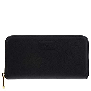 dd4fc5e9e6ce UGG Honey Zip Around Wallet Leather at Amazon Women's Clothing store: