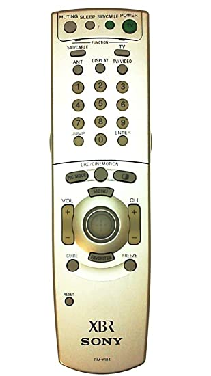 Amazon.com: Sony rm-y184 XBR Wega – Pip TV Mando a Distancia ...