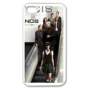 NCIS for iPhone 4,4S Cell Phone Case & Custom Phone Case Cover R36A650560