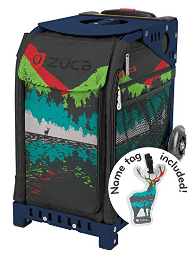 Zuca Into the Woods Sport Insert Bag and Navy Blue Frame with Flashing Wheels by ZUCA (Image #6)'