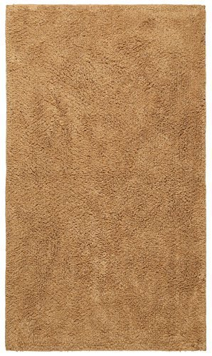 """St. Croix Plush Pile Tan (30""""x50"""") Bath Rug"""