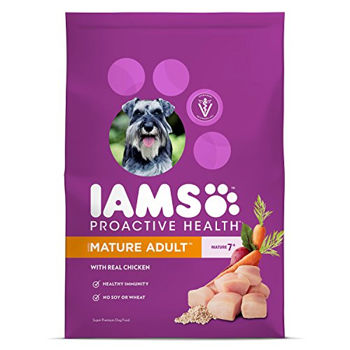 Iams Food Coupons - Iams ProActive Health Mature Dry Dog Food for All Dogs – Chicken, 7 Pound Bag