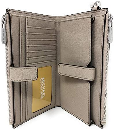 Michael Kors Women's Jet Set Travel Dbl Zip Wristlet