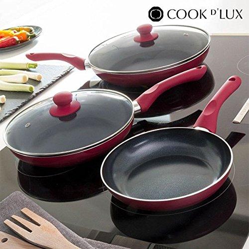 Appetitissime Cook DLux Sartenes Antiadherentes, Aluminio ...