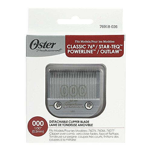 Oster Professional 76918-026 Replacement Clipper Blade (Shave Oster Blade)