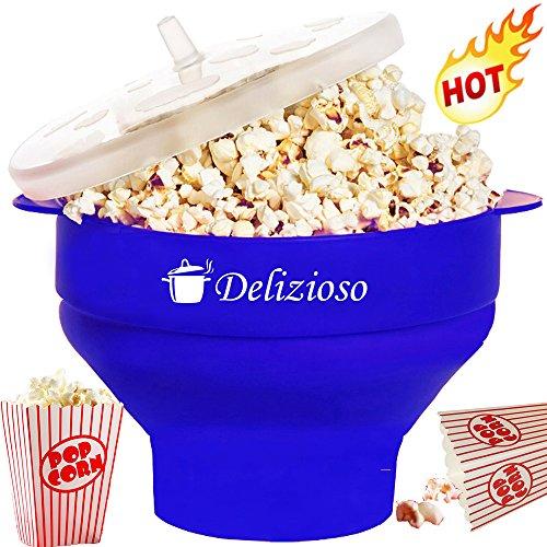 Delizioso Microwave Popcorn Popper Collapsible