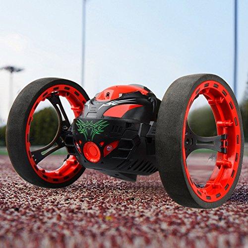 Bounce Car Threeking Rc Car Rc Bounce Car Jumping Car Rc Smart Car Stunt Car With 2 4Ghz Real Time Transmission