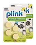free and clear dishwasher tablets - Plink Washer and Dishwasher Freshener and Cleaner, Phosphate and Bleach Free, Deodorizer and Cleaner, 8 Tablets