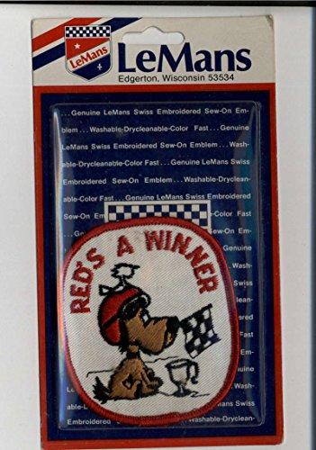 Red's A Winner LeMans Sealed New Patch Emblem Vintage Memorabilia