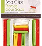 13-pc Bag Clips Sealer, Coupon Size, Colors may vary
