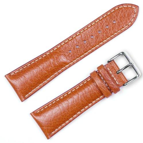 Sport Leather Watchband - Havana 20MM