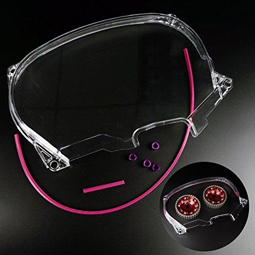 Clear Cam Gear Timing Belt Cover For Mitsubishi DSM Evolution LANCER EVO4-8 4G63