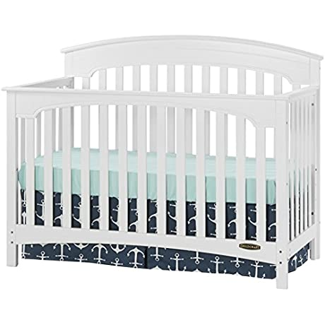 Childcraft Stanford 4 In 1 Convertible Crib Matte White