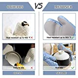 Oven Mitts and Pot Holders Set, 4PCS Kitchen 500