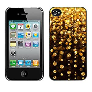 Hot Style Cell Phone PC Hard Case Cover // M00100084 light night abstract // Apple iPhone 4 4S