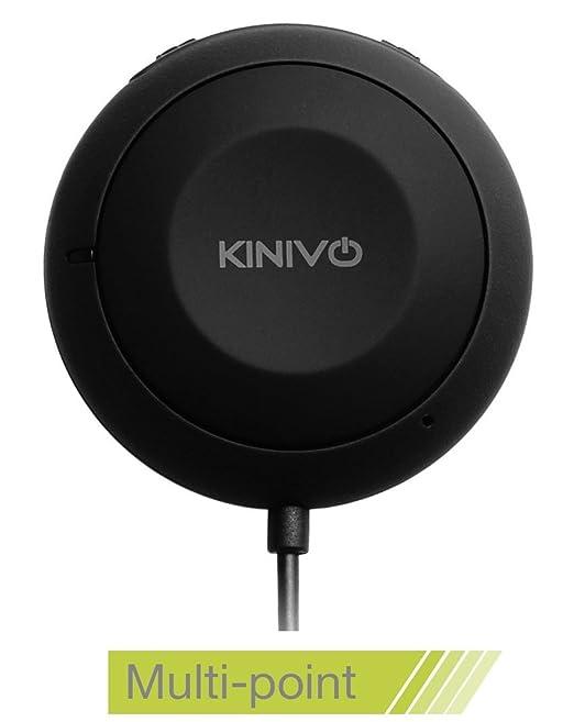 119 opinioni per Kit viva voce Bluetooth per auto Kinivo BTC455 con ingresso connettore Aux (3,5