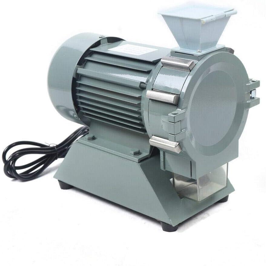 Plant Grinder, 110V 1400r/m Micro Mill Plant Machine 80-120 Mesh Soil Crusher Pulverizer Grinding Machine