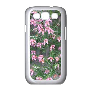 Pretty Flower Samsung Galaxy S3 Cases, Samsung Galaxy S3 Case I9300 Protect Young Okaycosama - White