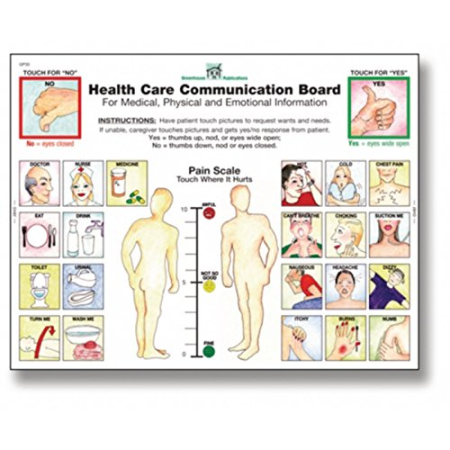 Health Care Communication Boards, Shape Pack of 4