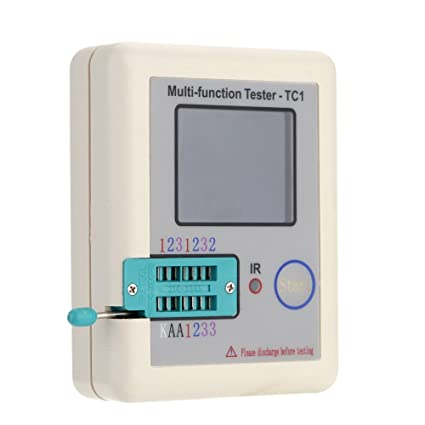 Transistor Tester, KKmoon Colorful Display Transistor Tester TFT Backlight Didoe Triode Capacitance Resistor Detector Inductance
