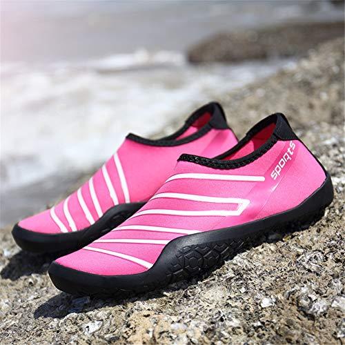 Ballo Snorkeling Immersione Spiaggia Nuoto Mare Rapida Bagno 35 Rosa Asciugatura 47eu Yoga Unisex Scarpe 1 Scoglio Torisky Da Scarpette p8xfPzqtnw