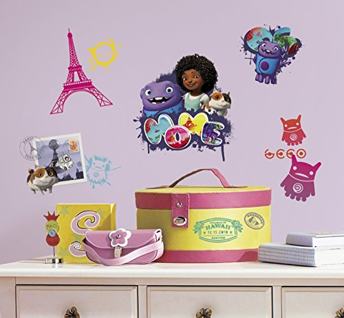 RoomMates RMK2671SCS Home Oh & Tip Peel and Stick Wall Decals (La Oh Wall La Sticker)