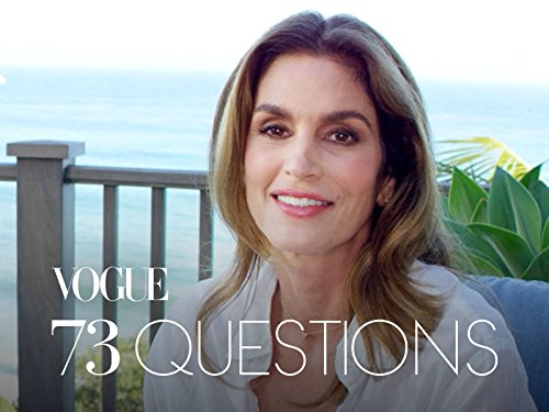 73 Cover - 73 Questions With Cindy Crawford