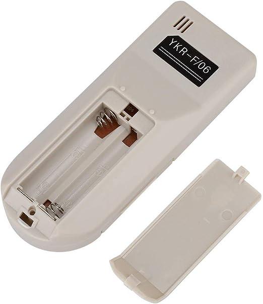 per AUX YKR-F//001 YKR-F//09R//010 F//06 DERCLIVE Telecomando universale per condizionatore daria in ABS