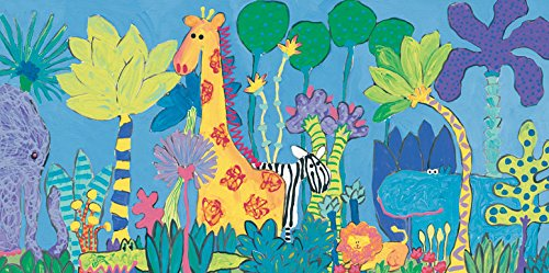 Oopsy Daisy Canvas Wall Art Jungle by Stephanie Bauer
