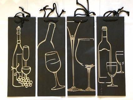 Juego de 4 bolsas regalo deluxe para botellas de vino en ...