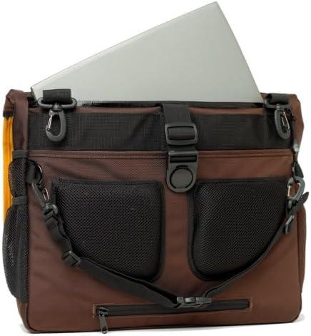 Amazon Com Bumbakpak Hamptons Hybrid Messenger Backpack Laptop Bag Chocotango Medium Electronics