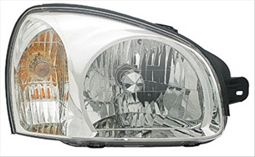 Partslink HY2503134 Multiple Manufacturers HY2503134N OE Replacement Headlight Assembly HYUNDAI SANTA FE 2003-2006