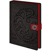 Game of Thrones Premium A5 Hardback Notebooks: Targaryen
