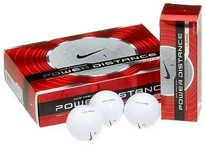 Nike Power Distance Long Golf Balls (12-Pack)