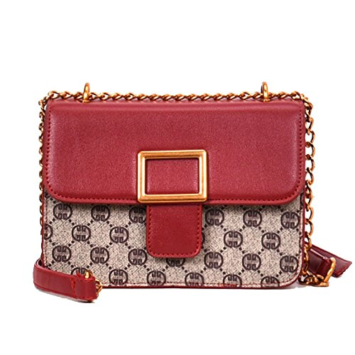 Simple Zllnsxkb à Sac Elegant Wild Woman Temperament Sac Rouge bandoulière wF1tFq
