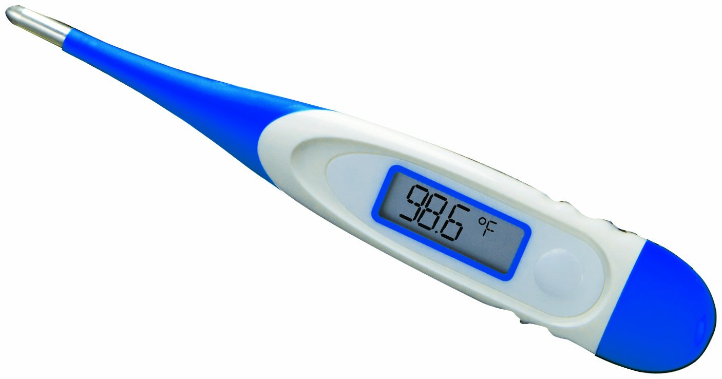 ADC 10 Second Digital Thermometer with Flexible Probe Tip, Adtemp 415FL